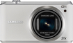 Samsung - WB350F 16.3-Megapixel Digital Camera - White