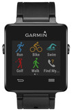 Garmin - vívoactive Smartwatch with Heart Rate Monitor for Apple® iOS and Android Cell Phones - Black