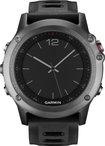 Garmin - fēnix 3 GPS Watch - Gray/Black