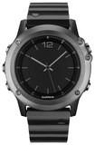 Garmin - Fenix 3 Sapphire Glass Gps Watch - Gray