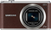 Samsung - WB350F 16.3-Megapixel Digital Camera - Brown