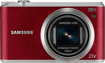 Samsung - WB350F 16.3-Megapixel Digital Camera - Red