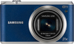 Samsung - WB350F 16.3-Megapixel Digital Camera - Blue