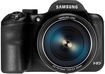 Samsung - WB1100 16.2-Megapixel Digital Camera - Black