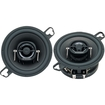 "Pioneer - 3-1/2"" 2-Way Speakers with IMPP Woofer Cones (Pair) - Black"