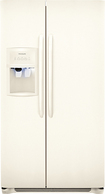 Frigidaire - 26.0 Cu. Ft. Side-by-Side Refrigerator with Thru-the-Door Ice and Water - Bisque