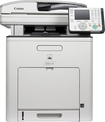 Canon - imageCLASS MF9280Cdn Network-Ready Color All-In-One Printer - White