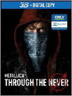 Metallica Through the Never - Blu-ray 3D 2013