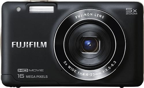 Fujifilm - FinePix JX660 16.0-Megapixel Digital Camera - Black
