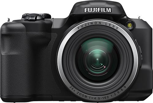 Fujifilm - FinePix S8600 16.0-Megapixel Digital Camera - Black