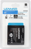 Lenmar - Lithium-Ion Battery for LG G2x P999 4G and Optimus 2X P990 Mobile Phones - Black