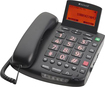ClearSounds - Digital Amplified Freedom Corded Phone with Speakerphone - Black