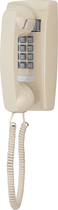 Cortelco - Corded Mini Wall Phone - Ivory