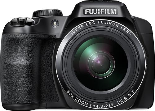 Fujifilm - FinePix S9400W 16.2-Megapixel Digital Camera - Black