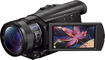 Sony - Prosumer HDR-CX900 HD Flash Memory Camcorder - Black