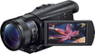 Sony - Prosumer FDR-AX100 4K HD Flash Memory Camcorder - Black