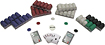 Trademark Global - 1000 Suited Texas Hold 'Em Poker Chips Set
