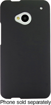 Insignia™ - Hard Shell Soft-Touch Case for HTC One Cell Phones - Black