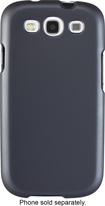 Insignia™ - Hard Shell Case for Samsung Galaxy S III Cell Phones - Gunmetal