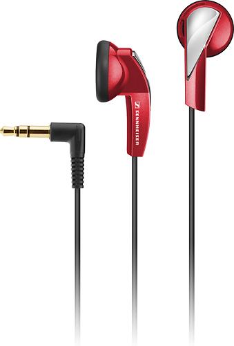 Sennheiser - MX 365 Earbud Headphones - Red
