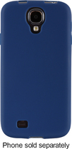 Insignia™ - Soft-Shell Case for Samsung Galaxy S 4 Cell Phones - Blue Arctic