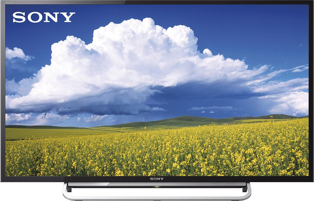 "Sony - BRAVIA - 40"" Class (40"" Diag.) - LED - 1080p - Smart - HDTV - Black"