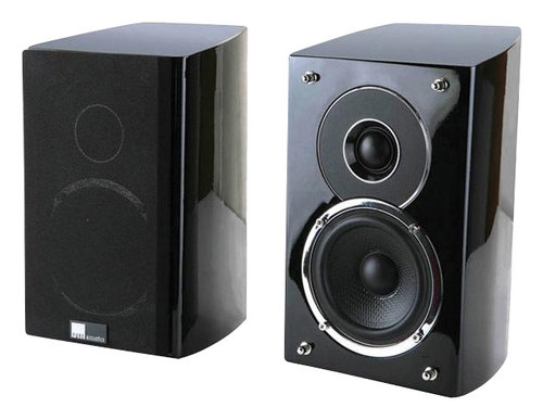 Pure Acoustics - Noble II 4 2-Way Wall-Mount Speakers (Pair) - Gloss Black