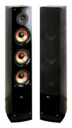 "Pure Acoustics - Supernova Series Triple 6-1/2"" 2-Way Floorstanding Tower Speaker (Each) - Black"