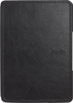 Amazon - Leather Cover For Amazon Kindle Digital Readers - Black
