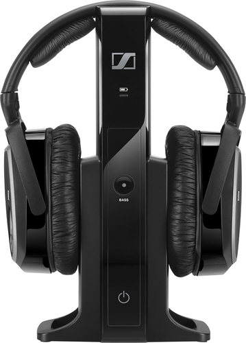 Sennheiser - Over-the-Ear Headphone System - Black
