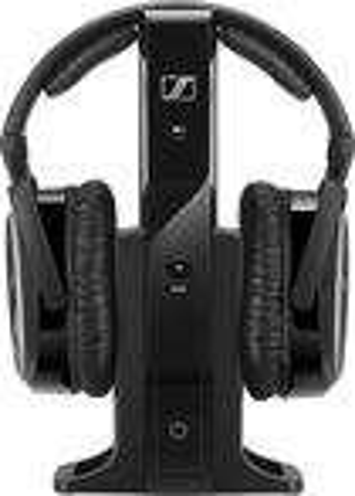 Sennheiser - Over-the-Ear Headphone System - Black