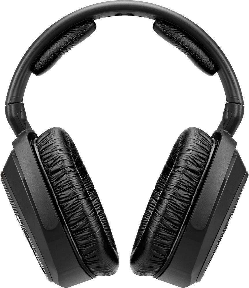 Sennheiser - Over-the-Ear Accessory Headphones for RS-175 Headphone Systems - Black