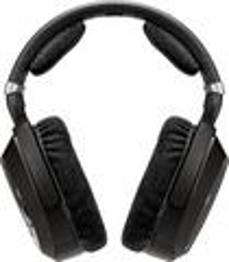 Sennheiser - Over-the-Ear Accessory Headphones for RS-185 Headphone Systems - Black
