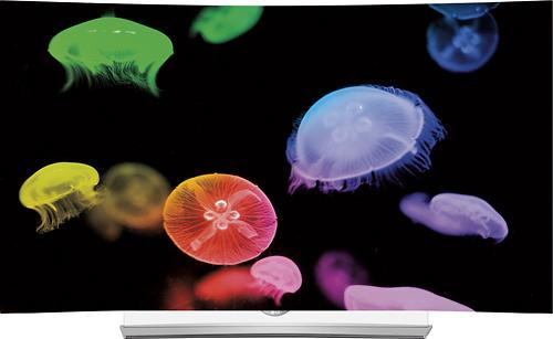 "LG 65"" Class (64.5"" Diag.) OLED Curved 2160p Smart 3D 4K Ultra HD TV Black 65EG9600"