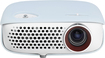 LG - WXGA LED Minibeam Projector - White