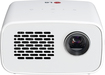LG - 720p LED Minibeam Projector - White