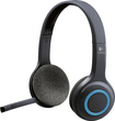 Logitech - H600 Wireless Headset - Black