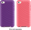 Belkin - Essential 023 Grip Case for 4th-Generation Apple® iPod® touch (2-Pack) - Purple/Pink