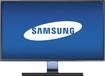 "Samsung - 27"" LED HD Monitor - Glossy Black"