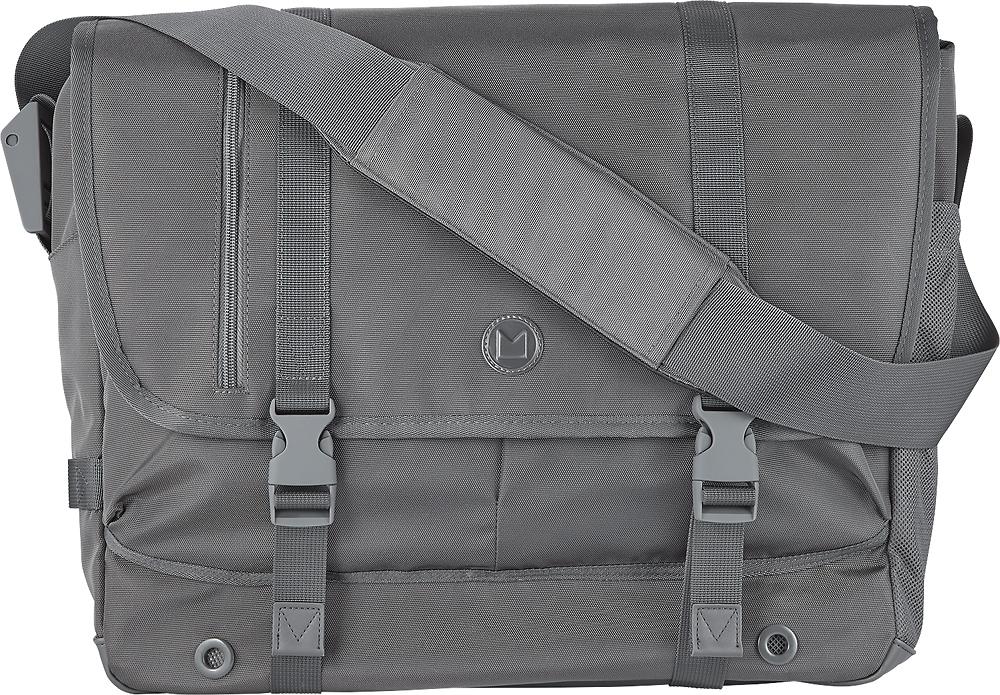Modal - Athletic Field Messenger Laptop Bag - Gray 3445029