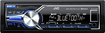 "JVC - 3.5"" - Built-In Bluetooth - Car Stereo Receiver - Black/Silver"