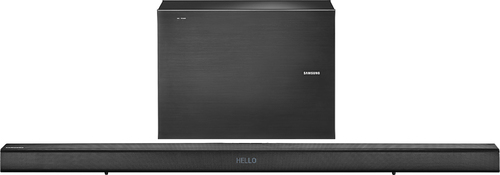 Samsung - 500 Series 2.1-Channel Soundbar with 7 Wireless Active Subwoofer - Black