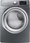 Samsung - 7.5 Cu. Ft. 11-Cycle Steam Electric Dryer - Platinum