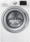 Samsung - 4.2 Cu. Ft. 9-cycle High-efficiency Steam Front-loading Washer - White 3460004
