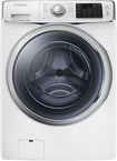 Samsung - 4.2 Cu. Ft. 11-Cycle High-Efficiency Steam Front-Loading Washer - White