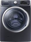 Samsung - 4.5 Cu. Ft. 13-Cycle High-Efficiency Steam Front-Loading Washer - Onyx