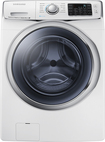 Samsung - 4.5 Cu. Ft. 13-Cycle High-Efficiency Steam Front-Loading Washer - White
