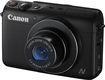 Canon - PowerShot N100 12.1-Megapixel Digital Camera - Black
