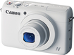 Canon - Powershot N100 12.1-megapixel Digital Camera - White