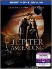Jupiter Ascending (Blu-ray Disc) (2 Disc) (Ultraviolet Digital Copy) 2015